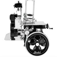 Berkel Tribute Flower Flywheel Snijmachine, zwart