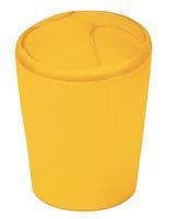 Praxis Spirella afvalbak Move Frosty geel 5l