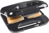 bestron ASM750W sandwichmaker (Kleur: zwart)