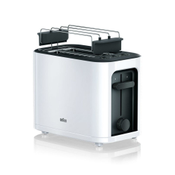 Braun PureEase HT 3010 WH broodrooster 2 snede(n) Wit 1000 W