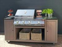 Trendhout Buitenkeuken Cooker de Luxe incl. BBQ Patton
