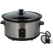 Dunlop Slow Cooker 3,5l 240W Stainless Steel/Ceramic 871125213160