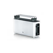 DeLonghi PurEase Toaster HT 3110 WH broodrooster Zwart, Wit 1000 W
