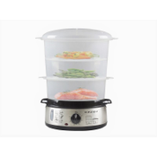 Beper Steam Cooker 9l 800W Stainless Steel BC.250