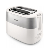Philips Daily Collection HD2516/00 broodrooster 2 snede(n) Wit 830 W