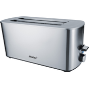 Steba TO 21 Inox Double Long Slot Toaster for 4 Toasts 049300
