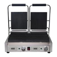 dubbele contactgrill groef/groef