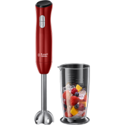 Russell Hobbs Desire blender 0,7 l Staafmixer Rood, Roestvrijstaal 500 W