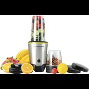Esperanza Master Nutri Blender 1000 W with 1000ml Blending Jar and 450ml Grinding Jar Tritan Material and Stainless Steel Blades EKM028