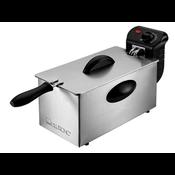 Clatronic - FR 3586 Stainless Steel Deep Fryer, 2000W, 3L (263684)