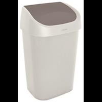 Allibert Curver vuilnisbak Mistral Swing recycled PVC beige 25L