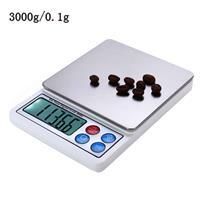 XY-8006 2,2 inch display Hoge precisie hoogwaardige elektronische weegschaal (0,1 g ~ 3000 g), exclusief batterijen