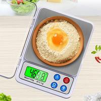 MH-555 6Kg x 0.1g Hoge Nauwkeurigheid Digitale Elektronische Draagbare Keukenweegschaal Weegschaal Apparaat met 2,2 inch LCD-scherm