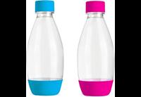 sodastream Bottles Fuse Pink + Light Blue