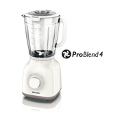 Philips Daily Collection HR2105/00 blender 1,5 l Wit 400 W