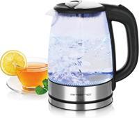 Emerio Glazen Waterkoker + LED-verlichting - 1,7 liter WK-119988