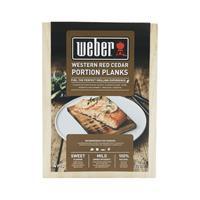 Weber Cederhouten portie rookplanken - Set van 4