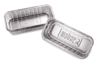Aluminium lekbakjes voor Weber Smokefire Summit en Genesis ll