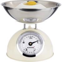 korona PAUL Keukenweegschaal Met schaalverdeling Weegbereik (max.): 5 kg Crème