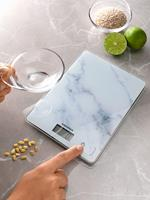 soehnle Page Compact 300 Marble Digitale keukenweegschaal Digitaal Grijs