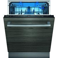 Siemens iQ500 SN65ZX49CE. Apparaatplaatsing: Volledig ingebouwd, Productafmeting: Volledige grootte (60 cm), Kleur bedieningspaneel: Zwart. Aantal couverts: 14 couverts, Geluidsniveau: 42 dB, Droogkla