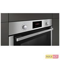 Neff Neff BCB2662. Grootte oven: Middelmaat, Soort oven: Elektrische oven, Totale binnen capaciteit (ovens): 71 l. Kleur van het product: Roestvrijstaal, Soort bediening: Draaiknop, Controle positie:
