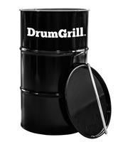 DrumGrill Medium 120 Liter Barbecue, vuurkorf en statafel in één