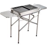 Outsunny Houtskool grill BBQ RVS