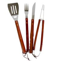Bbq Collection 17-delige Rvs Barbecue Gereedschap Set In Koffer