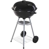Kogelgrill - Houtskoolbarbecue - 46x78 - Zwart