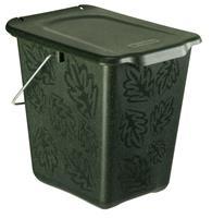 Vepa Bins Duurzame Afvalemmer van biokunststof Greenline, 7 liter (VB113214)