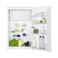 Zanussi ZEAN88FS inbouw koelkast 88 cm met diepvriesvak en sleepdeur montage