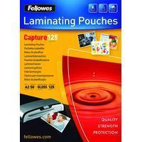 Fellowes LAMINATING POUCH A2 125MIC 50PK (5309302)