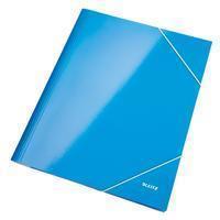 leitz Elastomap  WOW A4 blauw