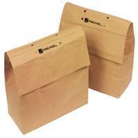 Rexel recycleerbare opvangzakken voor papiervernietigers 23 l, voor RES1223 en REX102, pak van 20 zakken