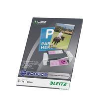 Leitz Lamineerhoes UDT A3. 250 micron (pak 25 stuks)