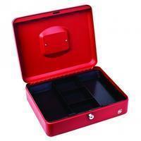 5star 5 Star geldkoffer ft 30 x 9 x 24 cm, rood