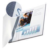 Leitz Inbindomslag  3.5mm zachte kaft blauw