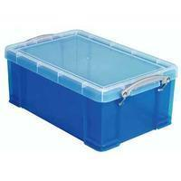 Reallyusefulboxes Really Useful Box 3 liter, transparant blauw