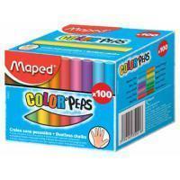 Maped Schoolbordkrijt  Color'Peps assorti stofvrij