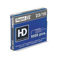 Rapid Nieten 23 Standaard 23/10 mm. capaciteit 70 vel (doos 1000 stuks)