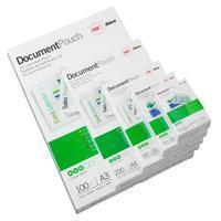 GBC Document Pouch A4 2x75mic (100) (3740400)