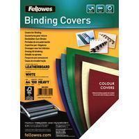 Fellowes omslagen ft A4, 250 micron, pak van 100 stuks, wit