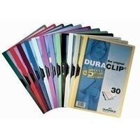 Durable Klemmap  2200 A4 3mm geel
