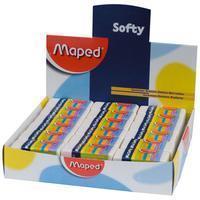 Maped potloodgom Softy mini formaat, doos van 36 stuks