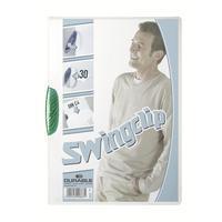 Durable Klemmap  2260 swingclip groen