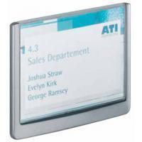 Durable Deurnaambordje Clicksign® 149 x 105.5 mm. zilvergrijs