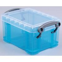 Reallyusefulboxes Really Useful Box 0,3 liter visitekaarthouder, helblauw