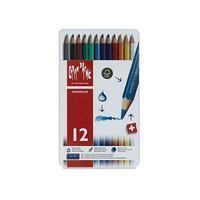 Caran d`Ache Kleurpotloden  Fancolor 12stuks assorti