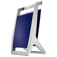 Leitz Pen Holder Silver Titan Blue (52550069)